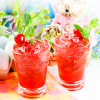 Cherry Shirley Temple Mocktail Recipe (Non-Alcoholic Mixed Drink)