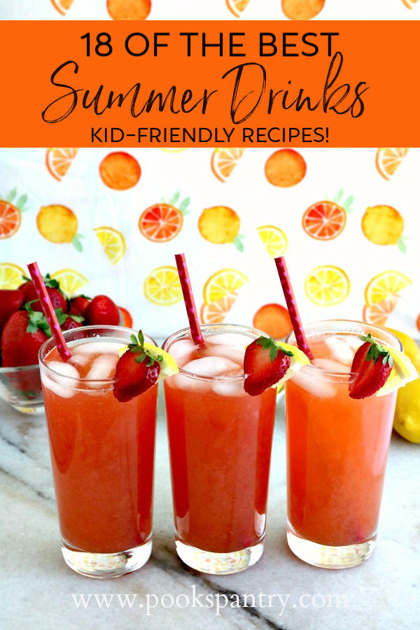 pin image for best summer drinks