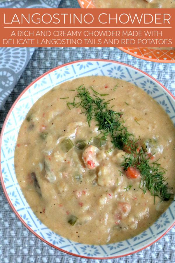 pin image for langostino chowder