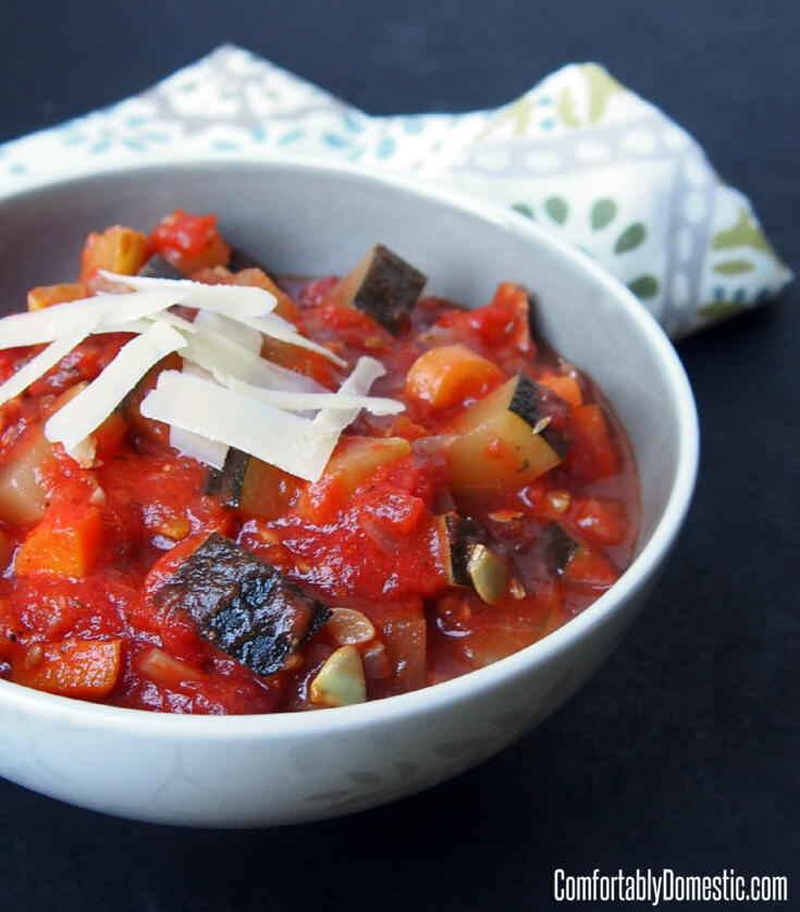 Homemade Ratatouille (Vegetable Stew) - 3 Ways!