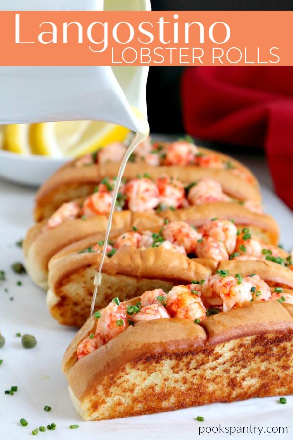 Langostino Recipe For Warm Lobster Rolls Pook S Pantry Recipe Blog