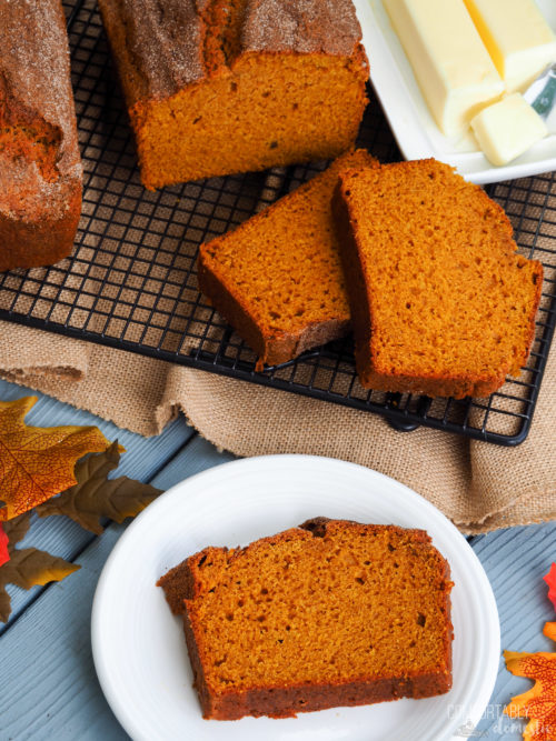 The Best Pumpkin Bread is here! - Comfortably Domestic