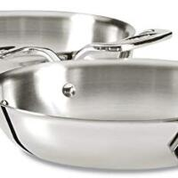 All-Clad Stainless Steel Gratins, Silver, Set of Two