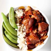 Honey Sriracha Chicken Rice Bowls