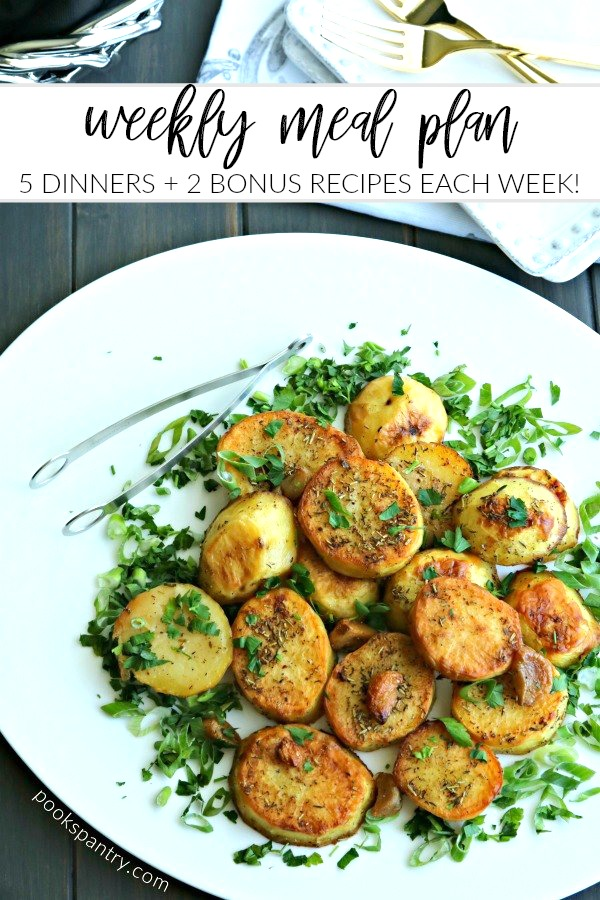 dinner divas meal plan image for pinterest