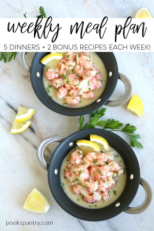 dinner divas meal plan image for pinterest