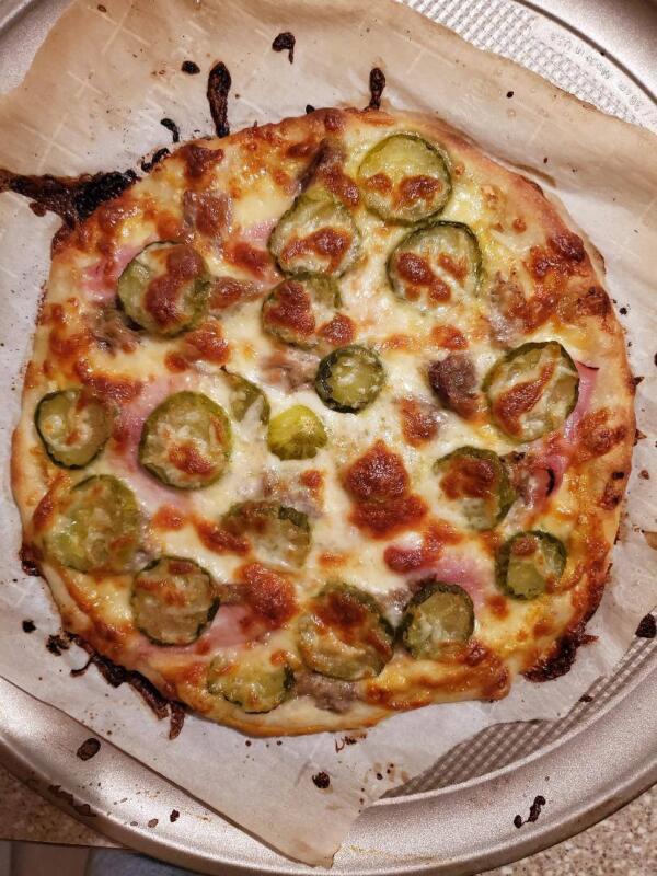 The Cubano Pizza