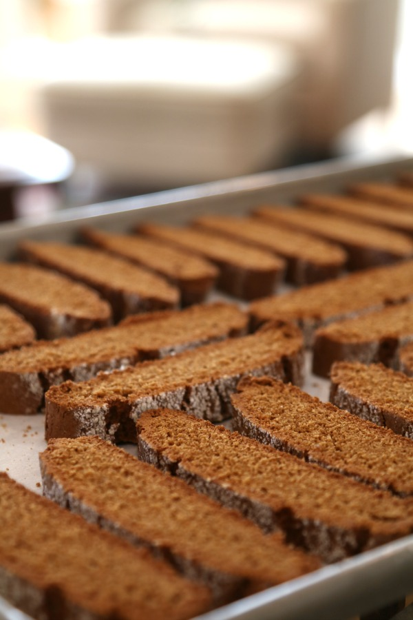 gingerbread on sheet pan