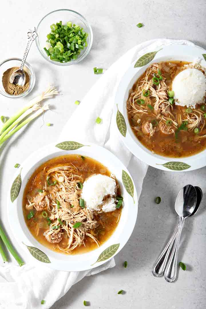 How to Make Chicken and Sausage Gumbo