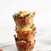 Gluten Free Broccoli Quiche Lorraine Bites