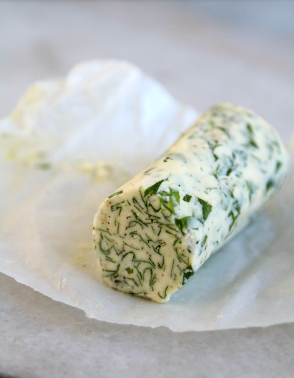 compound herb butter for corvina