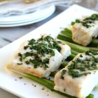 Corvina with Butter and Herbs
