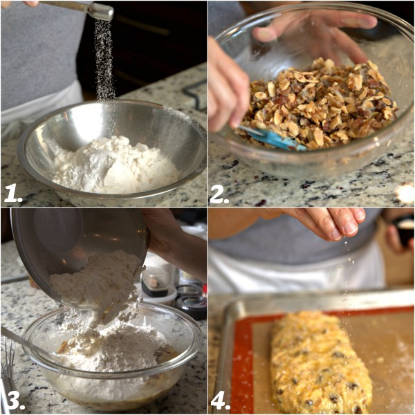 how to make golden raisin almond biscotti