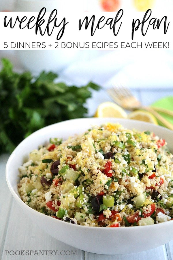 dinner divas meal plan provides quick and easy dinner recipes