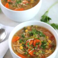 Crockpot Chicken Vegetable Soup