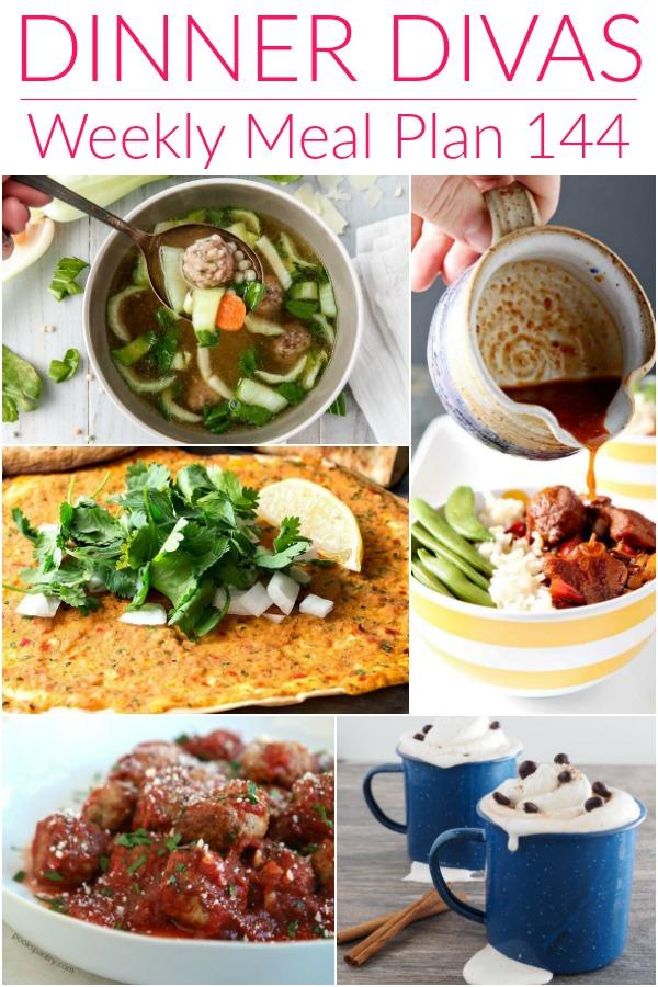 Dinner Divas meal plan 144 images