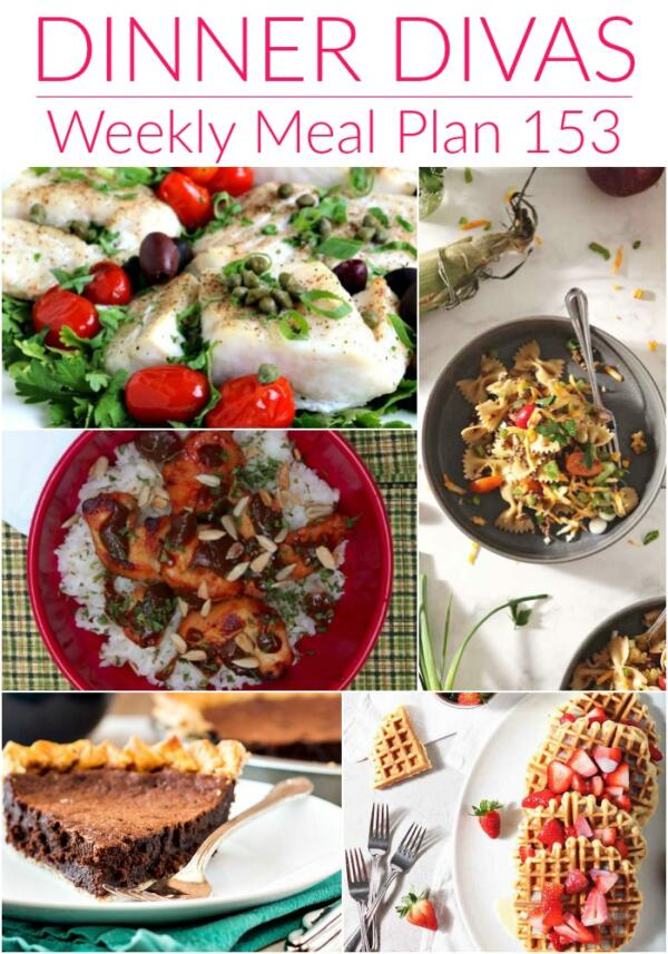 weekly meal plan collage 153
