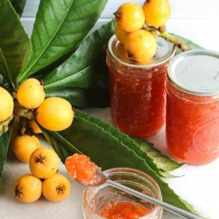 loquat jam recipe with fresh loquats