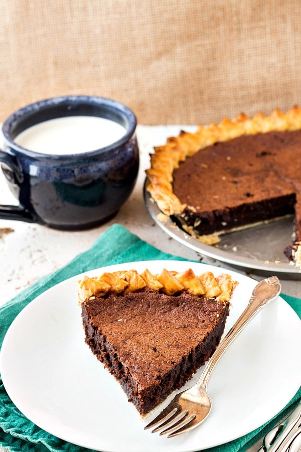 The Fudgiest Chocolate Chess Pie Recipe | Old-Fashioned Goodness