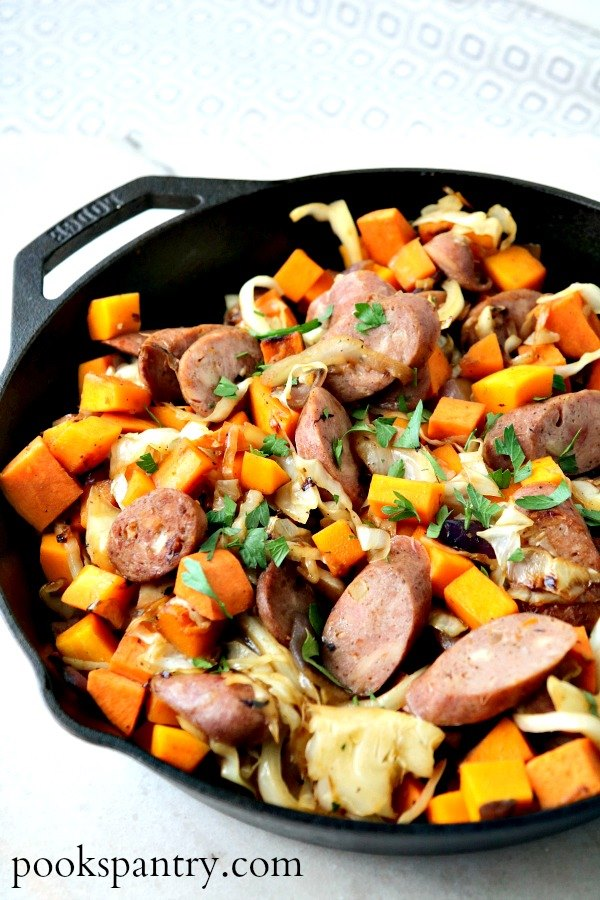 one pan chicken sausage recipe for weekly meal plan 153