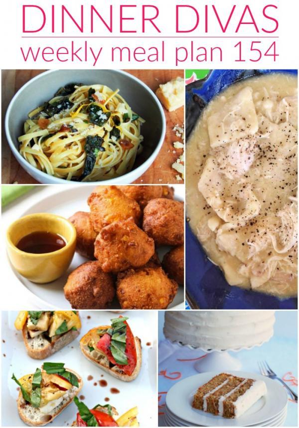 dinner divas meal plan collage