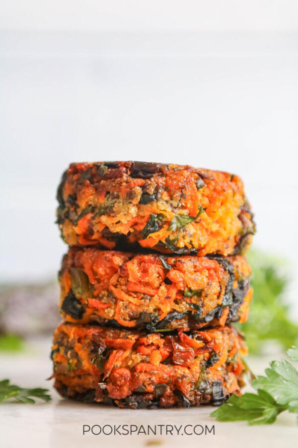 vegan vegetable patties