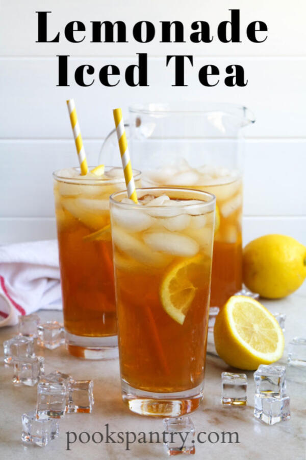 Lemonade Iced Tea Made With Sun Tea Pook S Pantry Recipe Blog