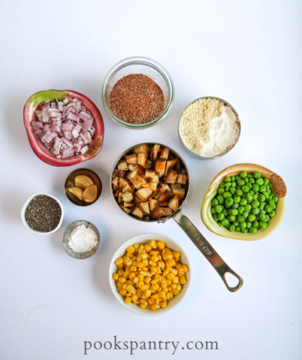 vegan vegetable cake ingredients