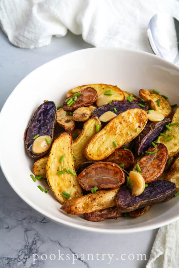 garlic fingerling potatoes recipe