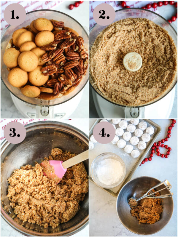 step by step instructions for rum balls